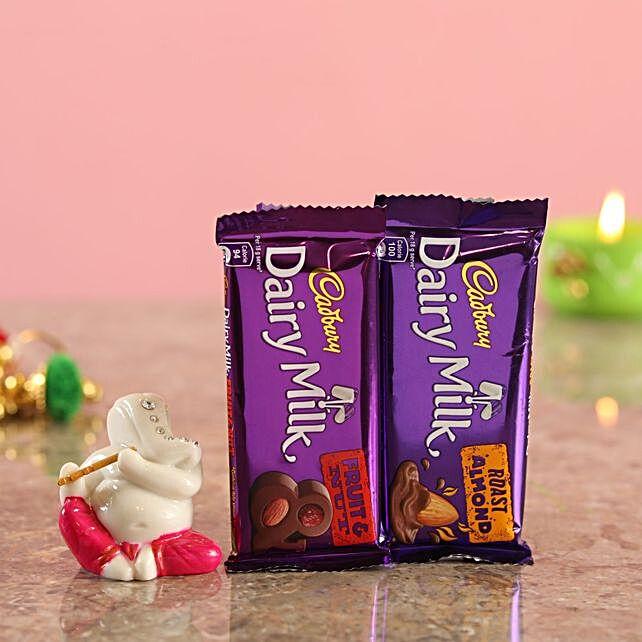 Chocolate Combo Lord Ganesha Idol