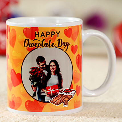 Chocolate Day Special Personalised Mug