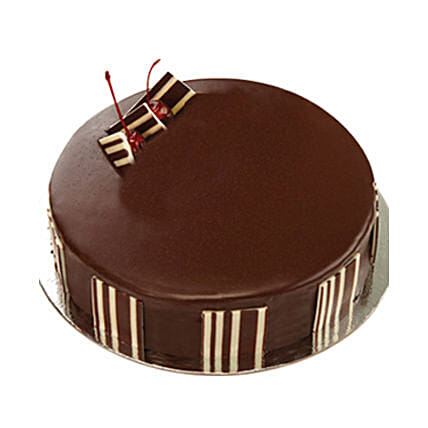 Chocolate Delight Cake - Five Star Bakery 1kg:Birthday Cakes Lucknow