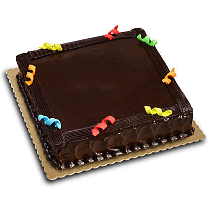 Moist Chocolate Birthday Cake