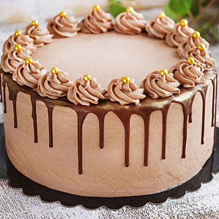 online chocolate fudge cake