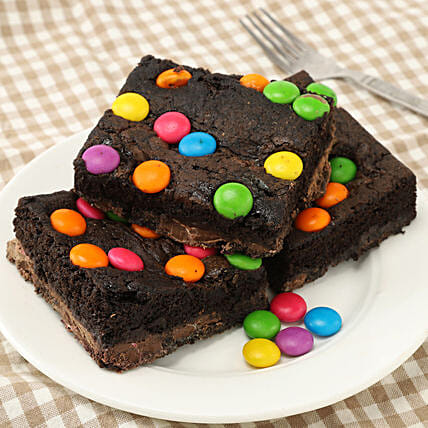 Chocolate Gems Brownies:Cakes to Serchhip