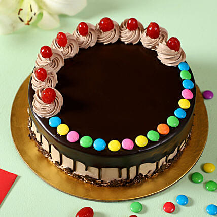 best chocolate gems cake