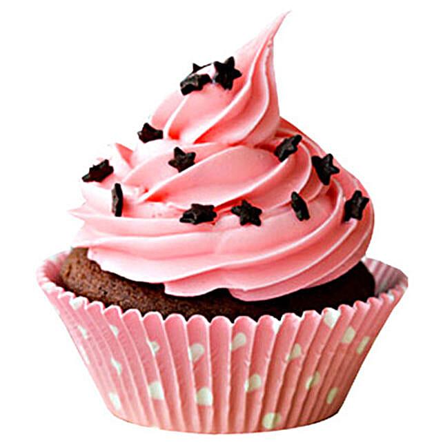 Chocolate Star Cupcakes 6