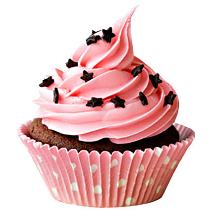 Chocolate Star Cupcake 6:Birthday Cakes Lucknow