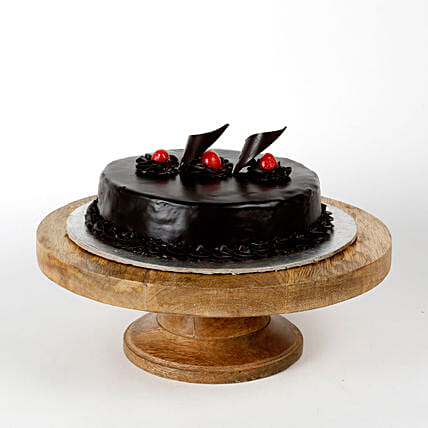 Happy New Year Cake Half kg:Send Karwa Chauth Gifts to Noida
