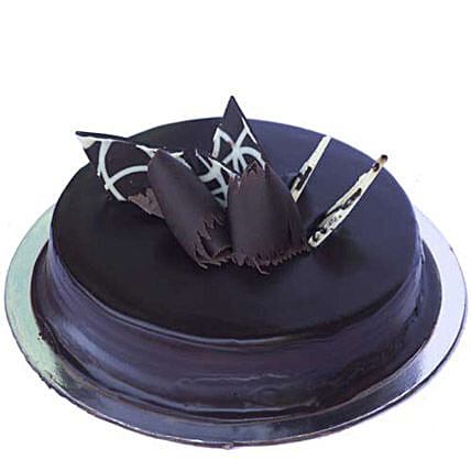 Chocolate Truffle Royale Cake 1kg:New Year Cakes to Patna