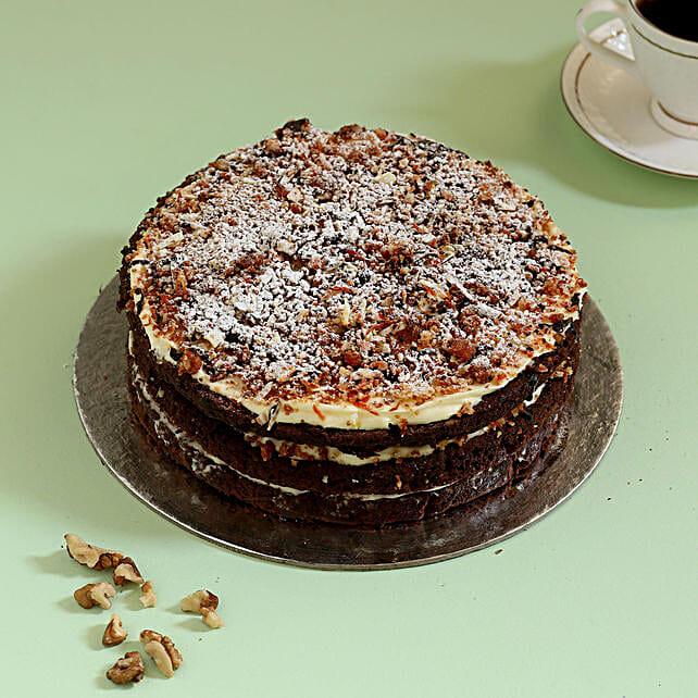 Online Chocolaty Carrot Cake:Walnut Cakes