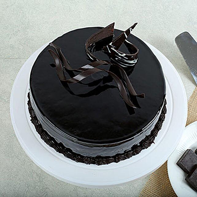 Chocolaty Truffle Cake Half Kg