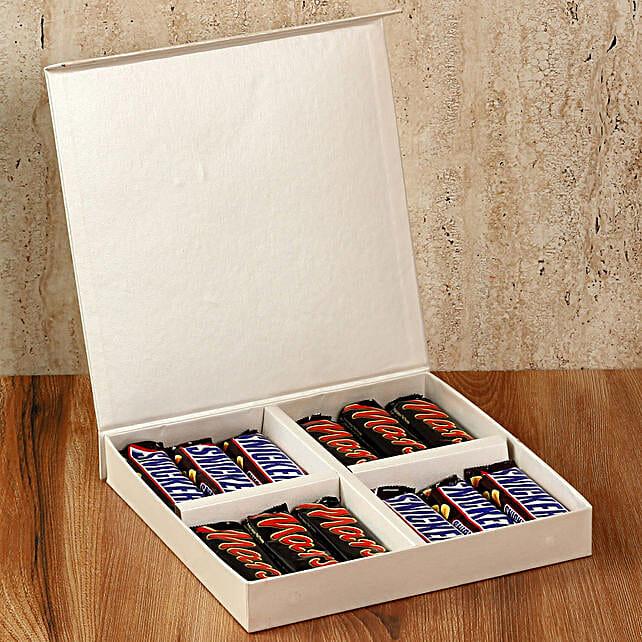 Chocolaty White Gift Box