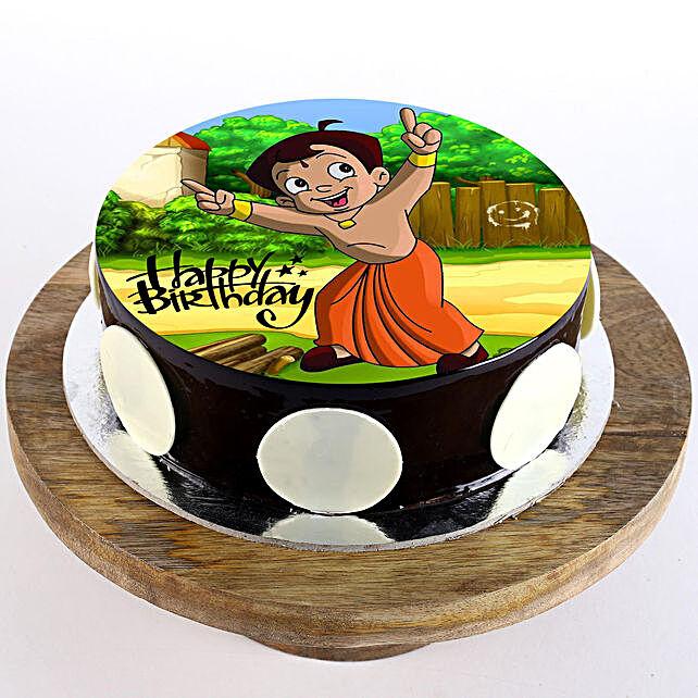 Chota Bheem Birthday Chocolate Cream Cake 1Kg
