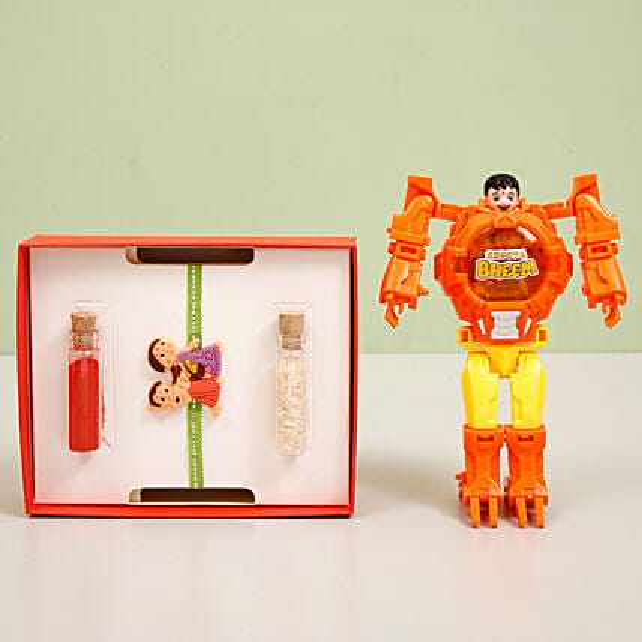 Cartoon Rakhi  Toy for Kids Online