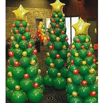 Balloon Decoration  For Christmas Online