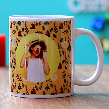 Christmas Special Personalised Mug:Send Christmas Gifts For Girlfriend
