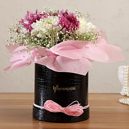 Chrysanthemum Forever Passion Floral Box:Chrysanthemum Flower