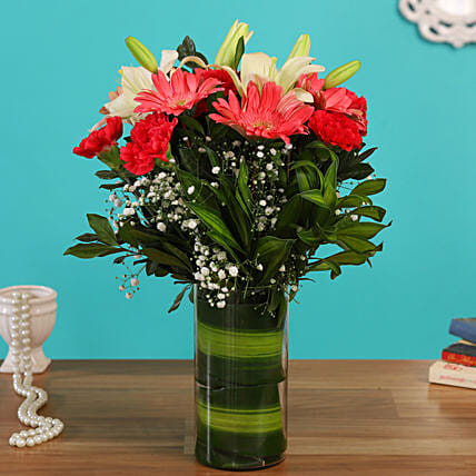 flower vase arrangement online