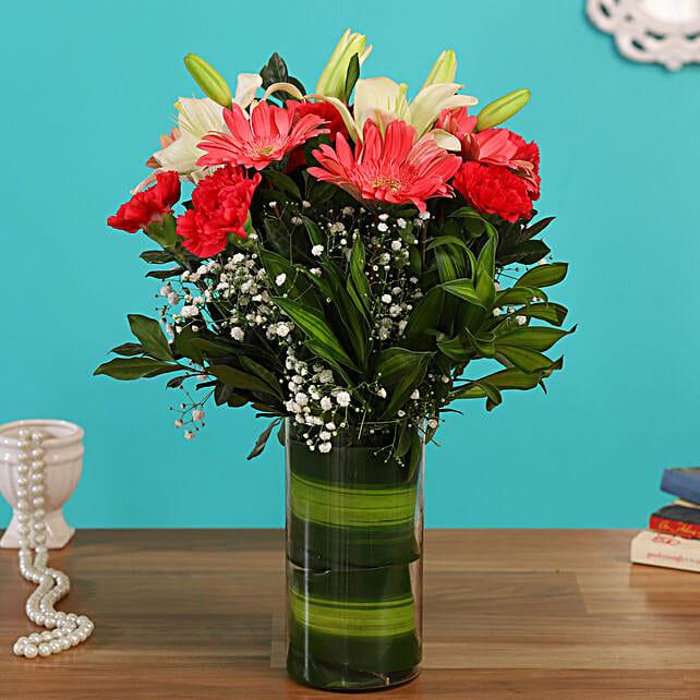 flower vase arrangement online