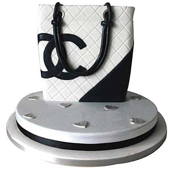 Classy Chanel Bag Cake 3kg