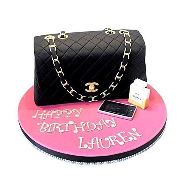 Classy Chanel Cake 4kg Eggless