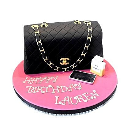 Classy Chanel Cake 2kg