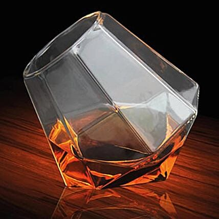 Buy Online Diamond Whisky Glass:Unusual Gifts