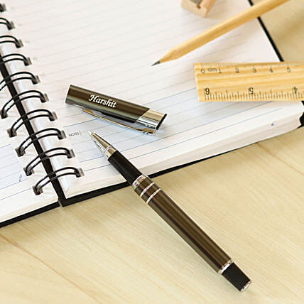 personalised classy roller pen online:Personalised Engraved