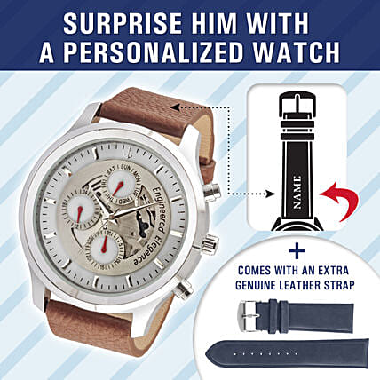 designer personalised watch online