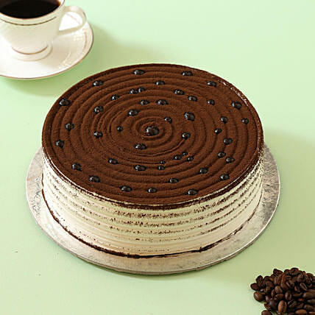 Online Coffee Swirl Cake