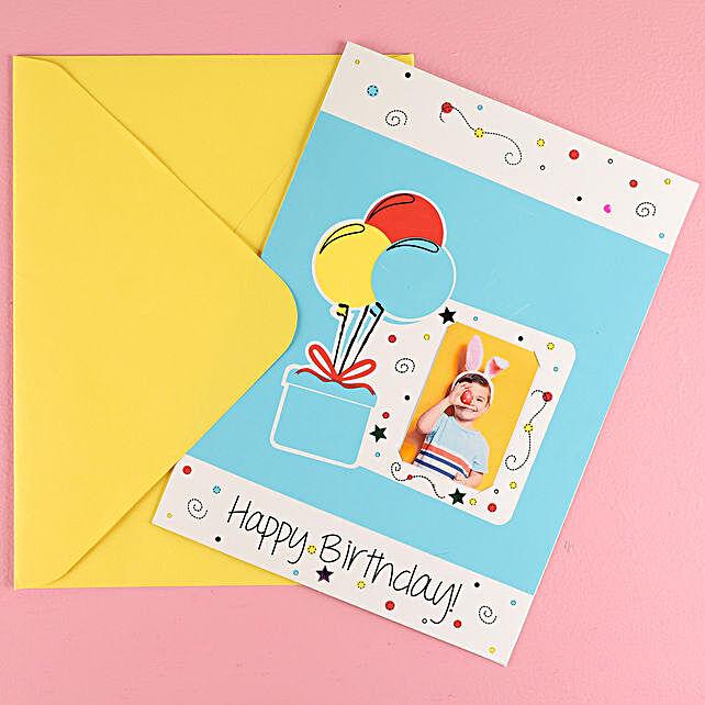 Online Balloon Birthday Card
