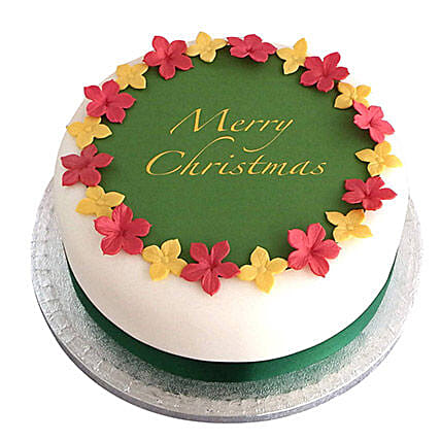 Simple Christmas Cake Online