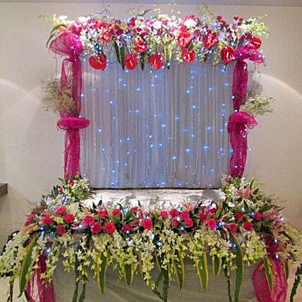 Colorful Floral Decoration
