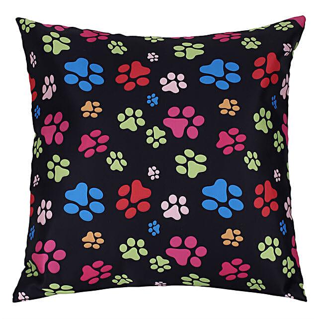 Unique Paw Printed Cushion