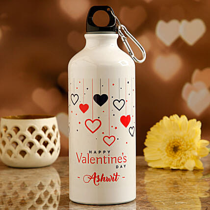printed water bottle for her