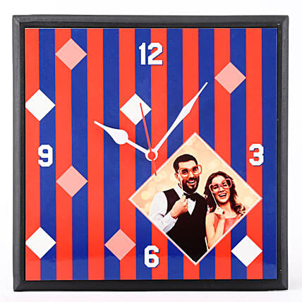 customised wall clock for couple
