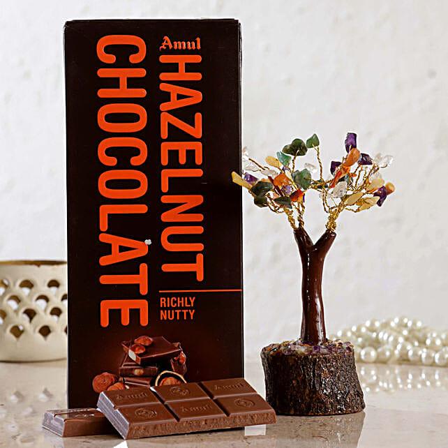 Colourful Wish Tree Amul Hazelnut Chocolate