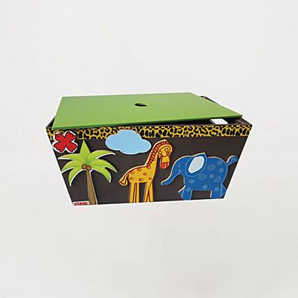 Online Container with lid - Animal
