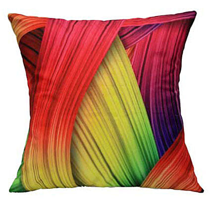 Cover With Colours-12x12 inches abstract print cushion