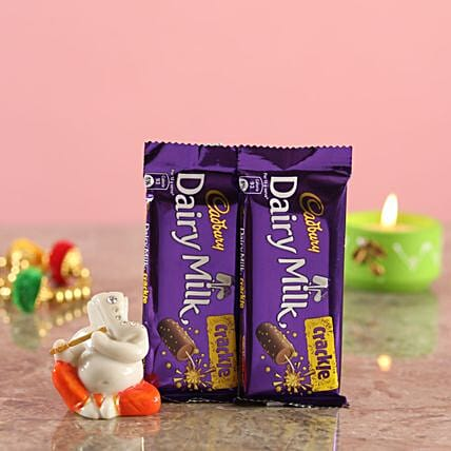 Crackle Chocolates Ganesha Idol