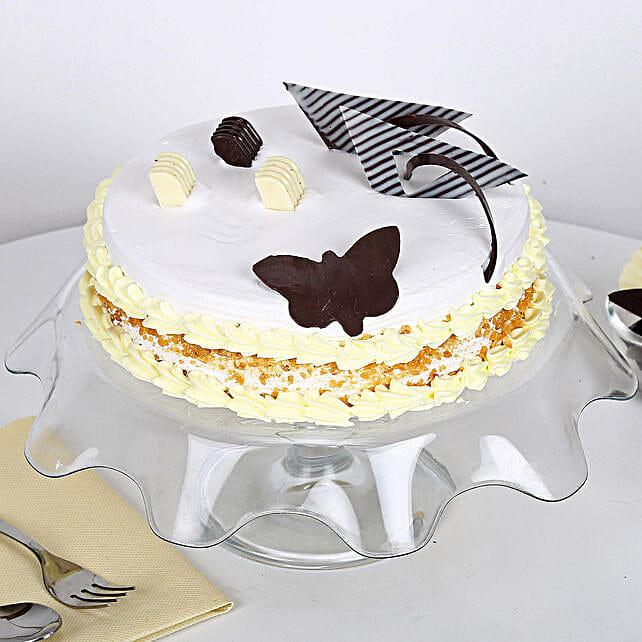 Butterscotch Round Cake Half kg