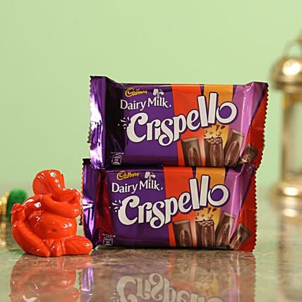 Crispello Chocolate Orange Ganesha Idol