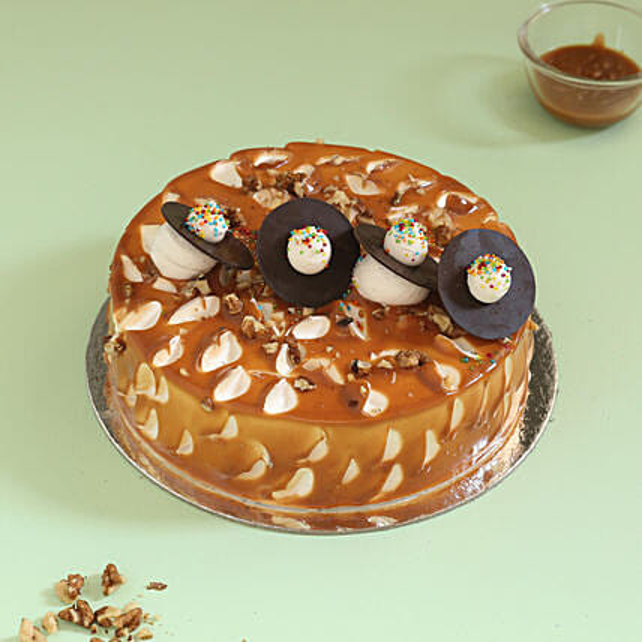OnlineCrunchy  Walnut Cake