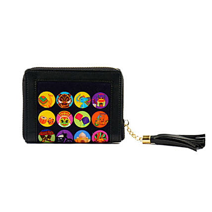 Online Cultures of India Small Wallet