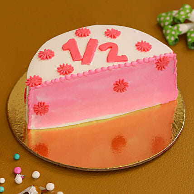 half shape cake online:All Cakes