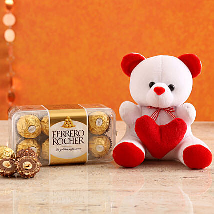 Send Cute Teddy Online:Soft toys for Promise Day
