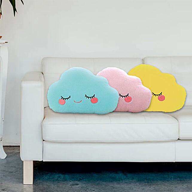 D Y Cloud Shaped Pillow Set Of 3