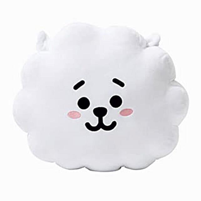 D Y Smiling Cloud Shaped Cushion Pillow