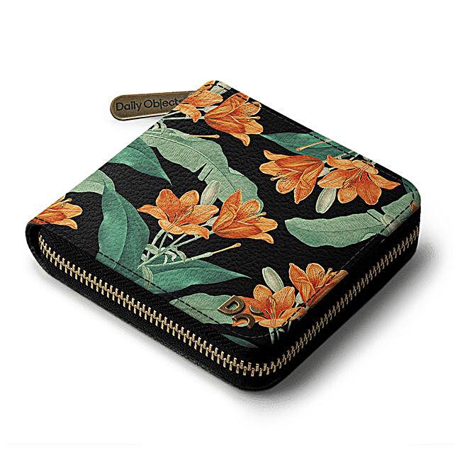 Online Midnight Hibiscus Zip Wallet