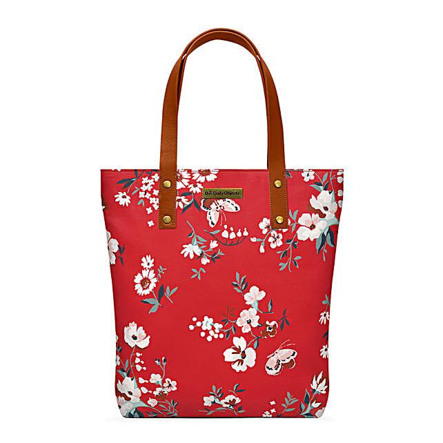 Online Red Buterflies Classic Tote Bag:Tote Bags