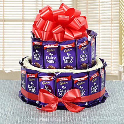 Cadbury Chocolates Bouquet chocolates choclates:Buy Secret Santa Gifts