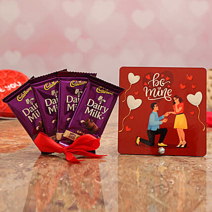 Valentine's Table Top & Chocolate Combo for GF